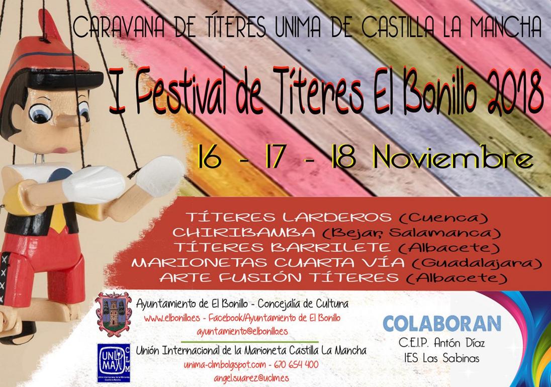 I Festival de Títeres de El Bonillo