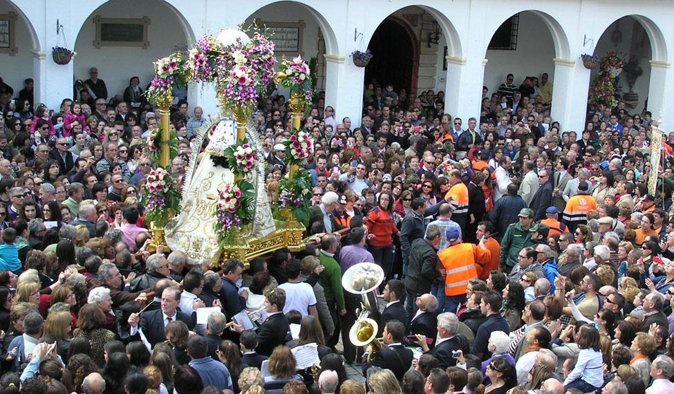 Mayos a la Virgen de Cortes