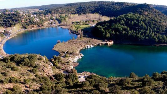 Zona De Bano De Las Lagunas De Ruidera Ecomuseo Sierra De